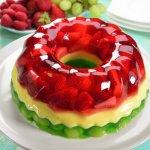 gelatina frutas