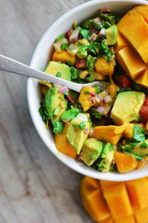 mango ensalada
