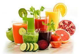 jugos con vegetales